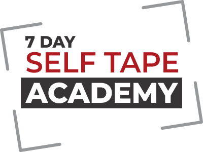 7 Day Self Tape Course