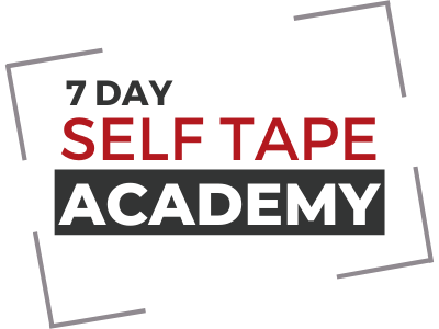 7 day Self Tape Courses with the Self Tape Academy
